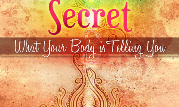 "Now Available for Nook! ""The Chakra Secret: What Your Body Is Telling You"""