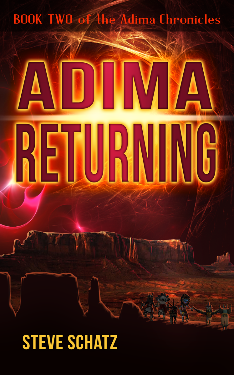 Adima Returning, Book Two of the Adima Chronicles