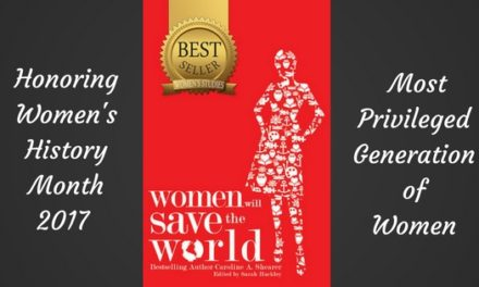 """Celebrate Women's History Month with """"Women Will Save The World"""""""